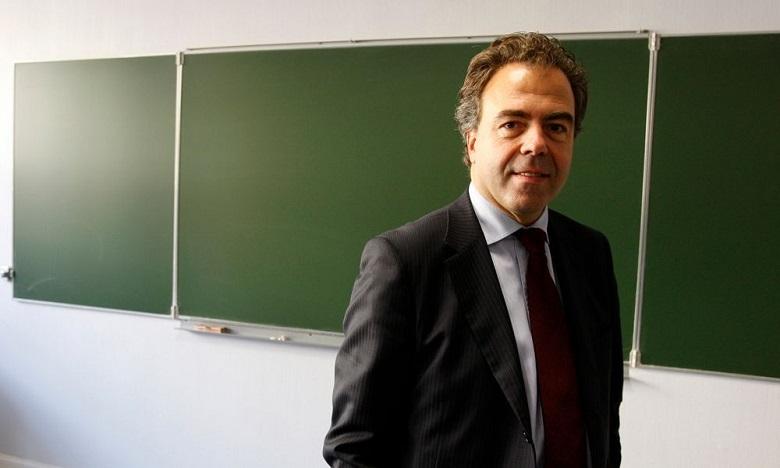 Luc Chatel, nouveau président de l'Ecole Française Internationale de Casablanca