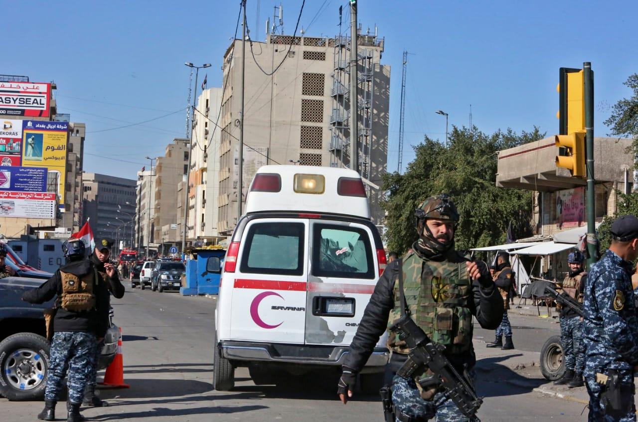 Au moins 13 morts dans un double attentat suicide à Bagdad