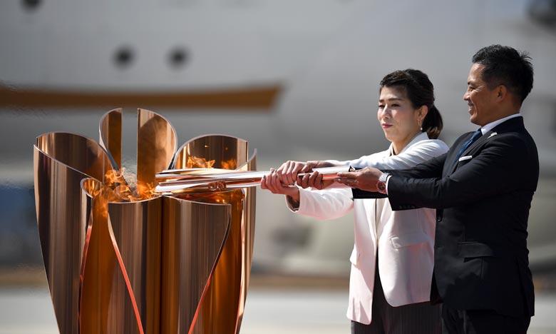 La tenue des Jeux Olympiques de Tokyo en 2021 semble «peu vraisemblable» alors que l'épidémie de coronavirus continue à paralyser une grande partie du monde. Ph :  AFP