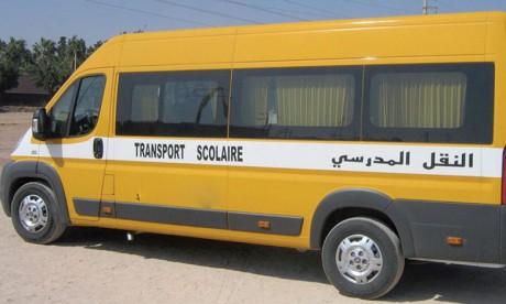 Augmentation de la capacité des véhicules du transport scolaire et du personnel à 75%