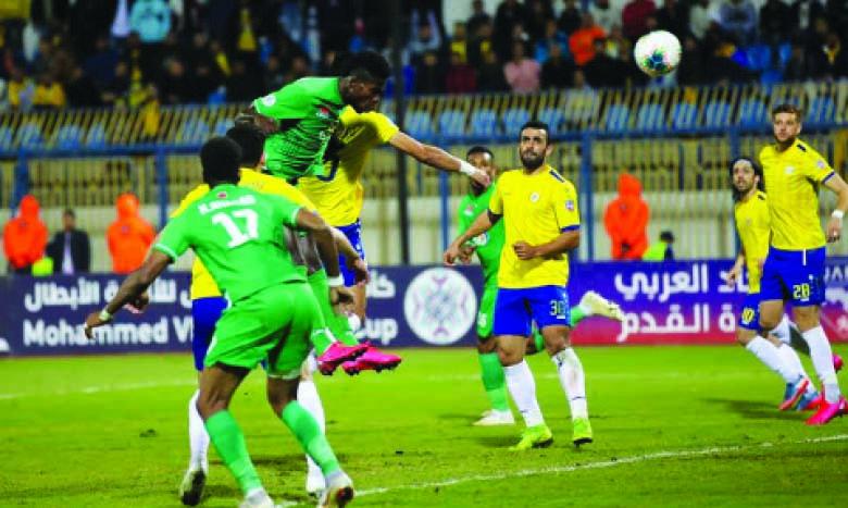 Phase de jeu du précédent match Raja-Al Ismaïly.