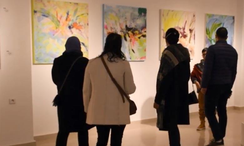 «Reflet» renferme une soixantaine d'œuvres d'artistes professionnels et amateurs dont le dénominateur commun est de faire connaitre leurs créations aux amoureux d'art plastique. Ph : DR