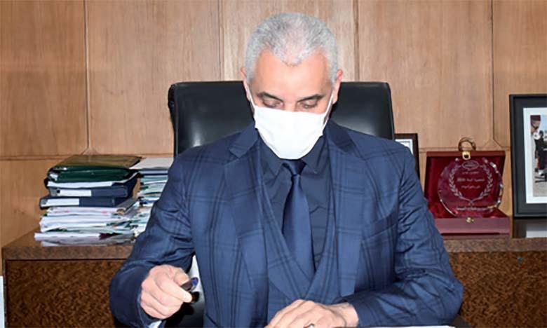 Khalid Aït Taleb : L'immunité collective pourrait être atteinte début mai