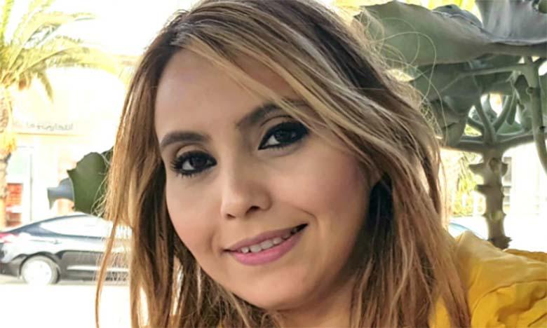 Najat El Baz expose ses tableaux en Jordanie