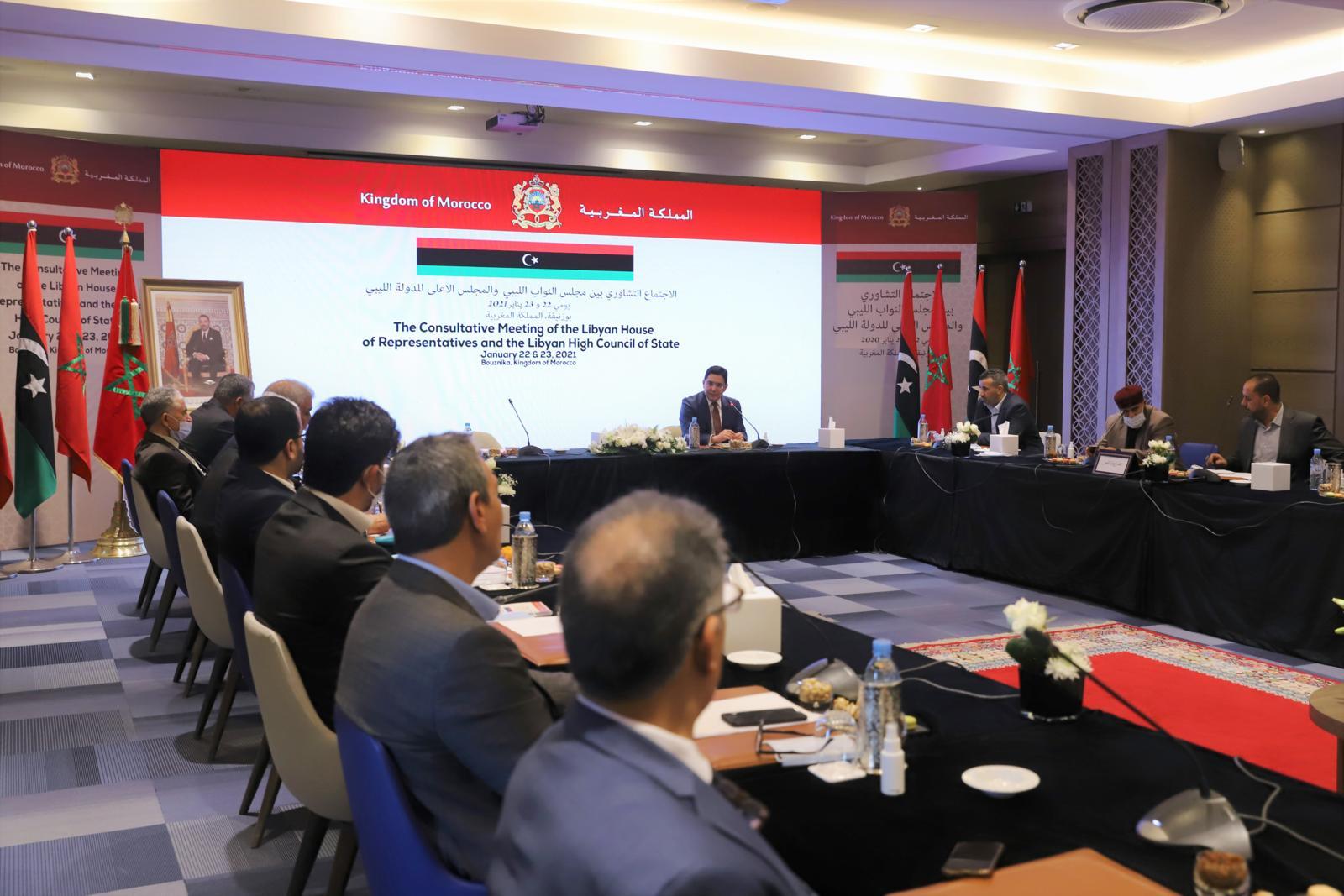 Sur Instructions royales, le Maroc est engagé à accompagner les parties libyennes jusqu'à résolution de la crise