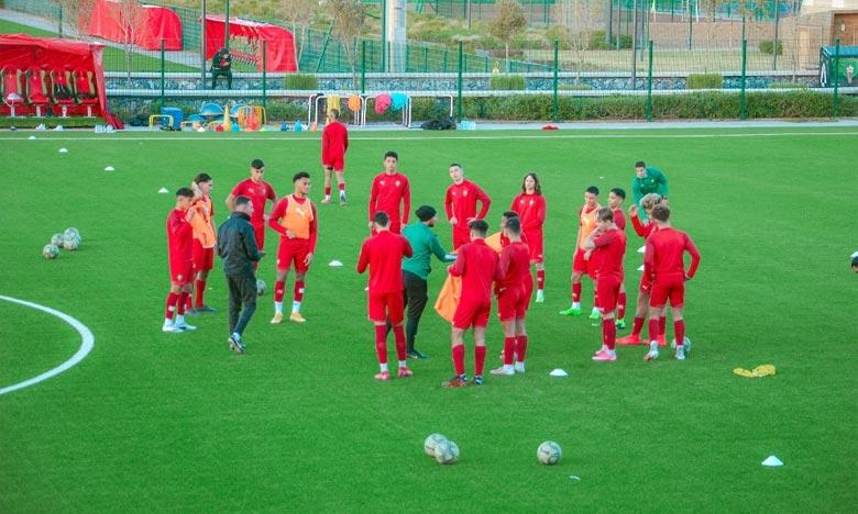 Vingt-quatre joueurs de la sélection nationale des moins de 17 ans (U17) ont été convoqués pour prendre part à ce stage qui se poursuivra jusqu'au 21 janvier. Ph : frmf.ma
