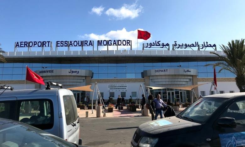 Aéroport Essaouira-Mogador : Le trafic aérien en chute de 65,95% en 2020