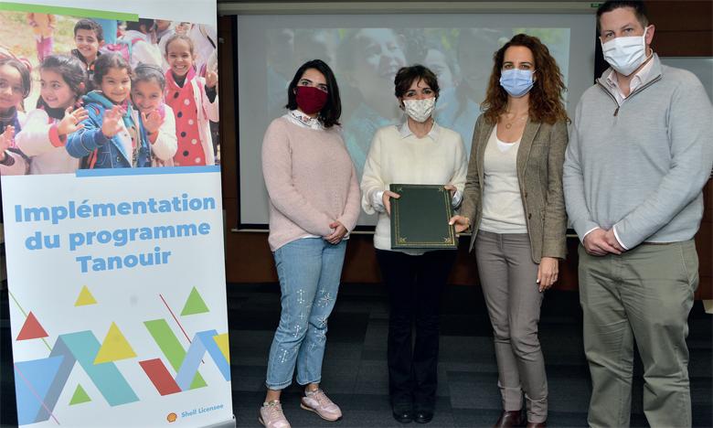 Vivo Energy Maroc participe  au développement personnel  et éducatif d'élèves