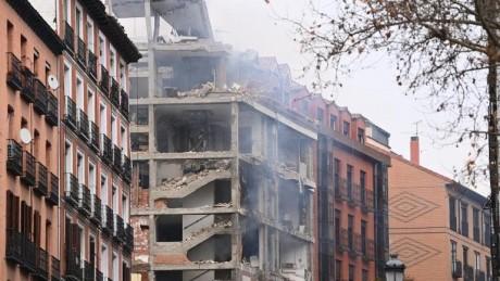 Madrid : Une explosion dans un immeuble fait deux morts
