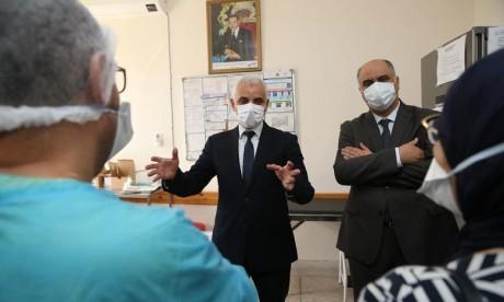 Vaccination anti-Covid-19 : Aït Taleb visite des centres de santé de Rabat-Salé-Kénitra