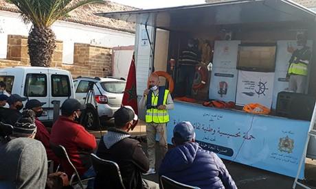 Essaouira : Lancement d'une campagne de sensibilisation sur la sécurité maritime à bord des bateaux de pêche