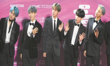 Les Sud-Coréens de BTS, le groupe musical le plus tweeté aux États-Unis en 2020