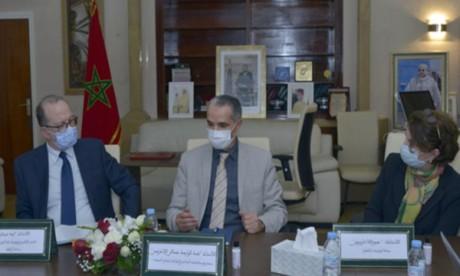 Région MENA: La Fondation Mohammed VI pour la Réinsertion des Détenus s'entretient avec  le directeur de l'UNICEF