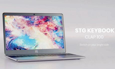 Un ordinateur portable signé STG Telecom