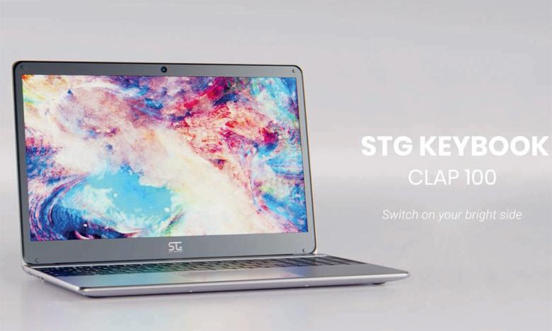En plus de son design «élégant», le STG Keybook Clap 100 affiche une puissance jugée surprenante.