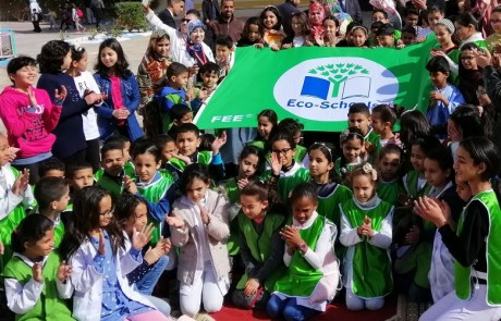 AREF de Drâa-Tafilalet  : Cinq écoles labellisées  «Pavillon vert»
