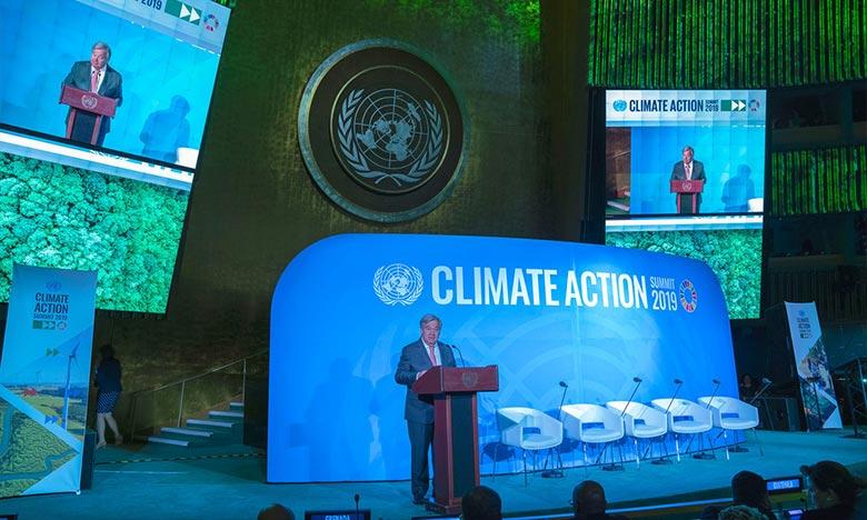 Le rapport intérimaire de la CCNUCC «ONU-Climat» est une alerte rouge pour notre planète, a martelé Antonio Guterres Ph : ONU