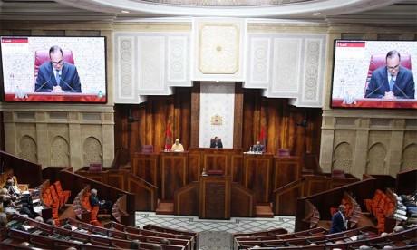 Un bilan marqué par l'adoption de loi de Finances et la liquidation  du régime de retraite des députés
