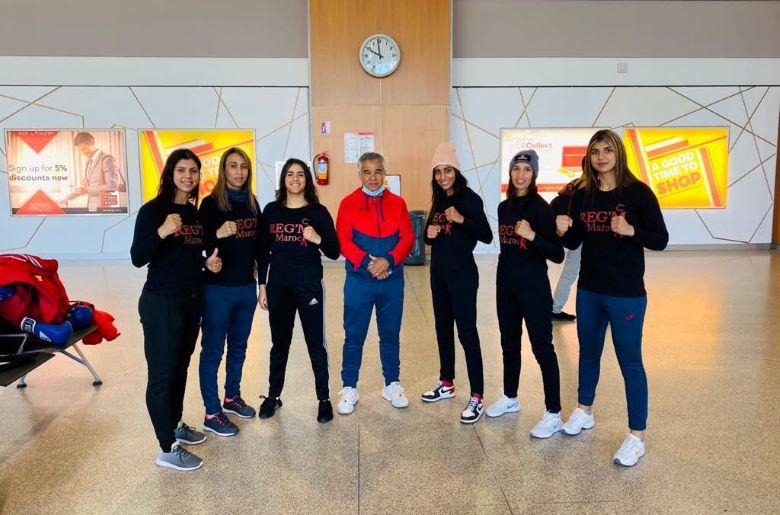 L'équipe sera encadrée par Mohamed Raiss aux côtés du champion olympique Mohamed Tamesmani et de l'ancienne championne Zahra Zahraoui. . Ph : frmboxe.ma