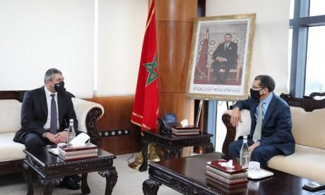 Entretiens à Rabat entre M. El Otmani et le Secrétaire général de l'OMT