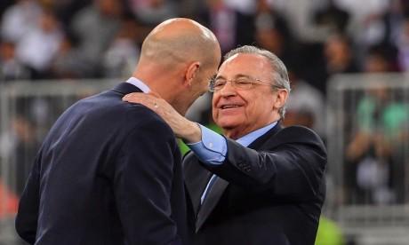 Le président du Real Madrid Florentino Perez positif au Covid-19