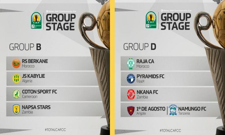 Tirage au sort de la Coupe de la CAF : Un groupe relevé pour la RS Berkane, le Raja relativement épargné