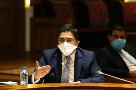 Nasser Bourita s'entretient avec l'envoyé spécial du SG de l'ONU pour la Libye