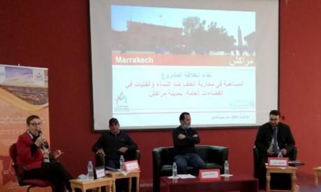 Marrakech: Lancement d'un projet sur la lutte contre la violence à l'égard des femmes dans les espaces publics