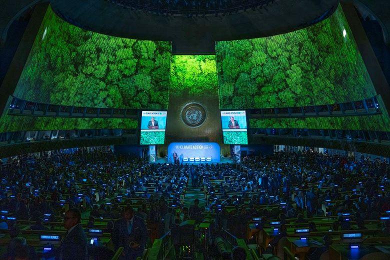 Le Conseil de sécurité de l'ONU réunit ses dirigeants pour parler climat