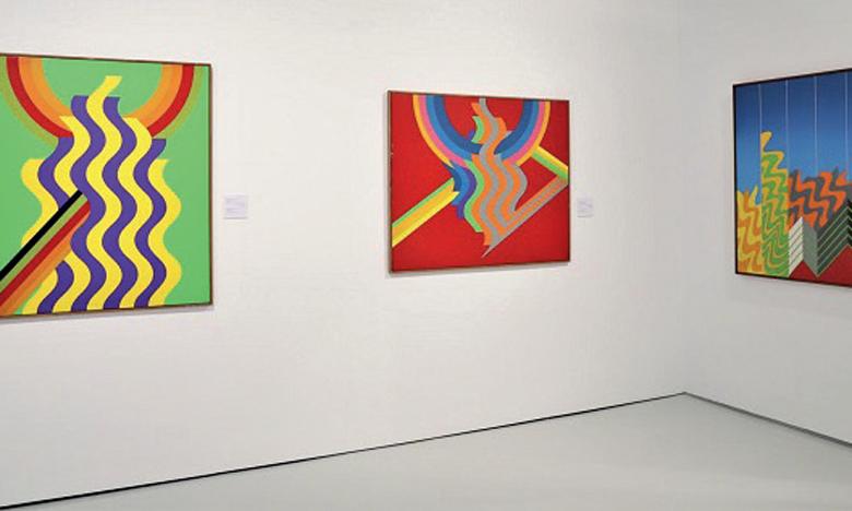 Exposition en hommage à l'artiste-plasticien feu Mohamed Melehi.