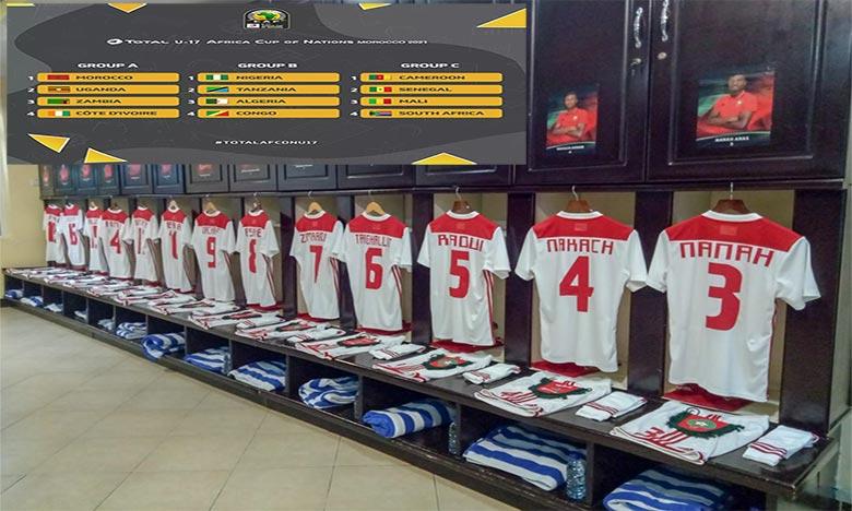 CAN U17: Le Maroc dans le groupe A avec l'Ouganda, la Zambie et la Côte d'Ivoire