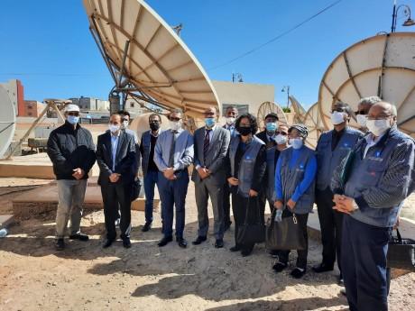 Des membres du CSCA en visite aux sites régionaux de production et de diffusion