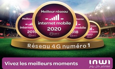 Speed test nPerf : inwi, n°1 du réseau internet mobile au Maroc