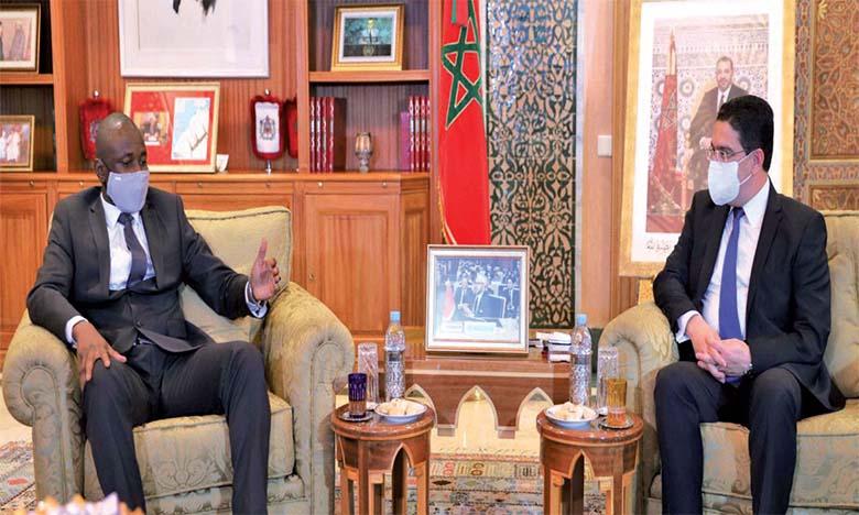 Le vice-président du Mali, Assimi Goïta, salue le rôle du Maroc dans l'accompagnement du processus de transition au Mali