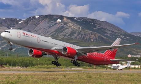 Atterrissage d'urgence d'un Boeing 777 à Moscou après un problème de moteur