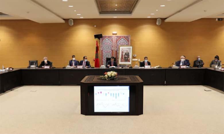Réunion du comité interministériel chargé de la sécurité routière.