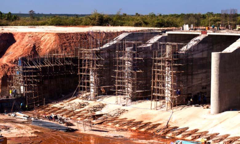 Cinq nouveaux barrages en construction  en 2021