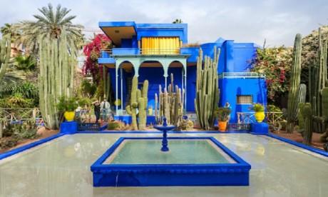 Marrakech : La Fondation Jardin Majorelle s'équipe en motos électriques