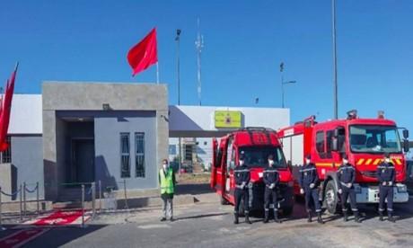 Inauguration du poste de secours autoroutier de Bouznika