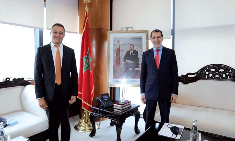 Ahmed Reda Chami et Saad Dine El Otmani.