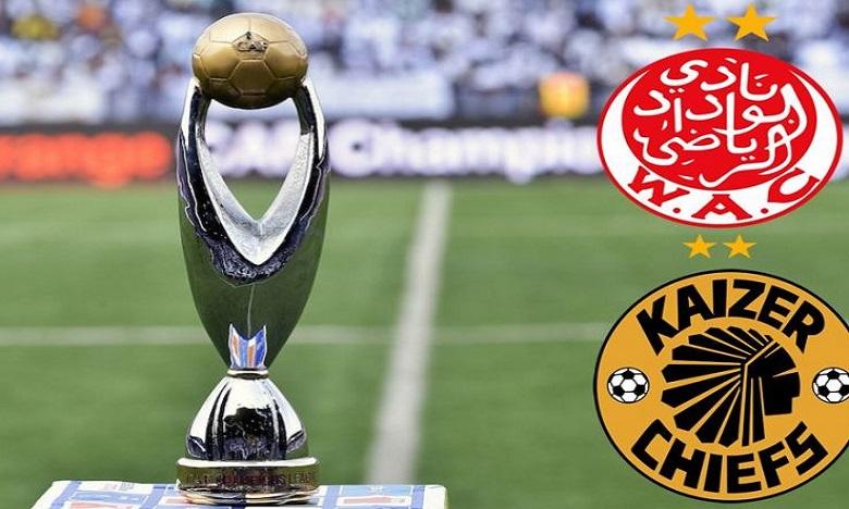 WAC-Kaizer Chiefs : Le match se jouera au Caire, la date pas déterminée