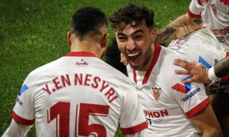 Liga espagnole : Les Marocains El Haddadi et En-Nesyri offrent la victoire à Séville