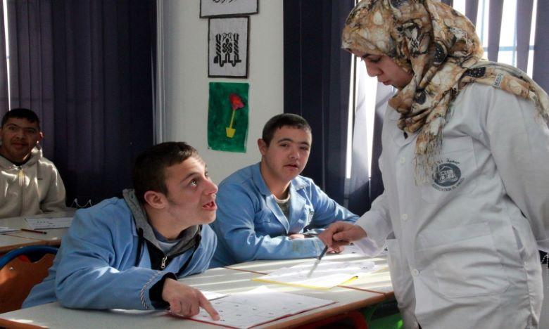 Le centre de ressources vise à faire des établissements scolaires des établissements inclusifs, pour assurer le droit à l'éducation pour tous les enfants, tout en tenant compte des besoins de chacun d'entre-eux. Ph : MAP