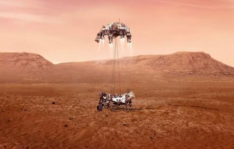 Atterrissage réussi pour «Perseverance» de la NASA