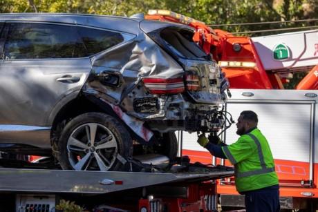 Tiger Woods blessé dans un grave accident de la route en Californie