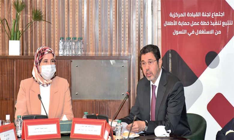 Jamila El Moussalli et Mohamed Abdennabaoui.
