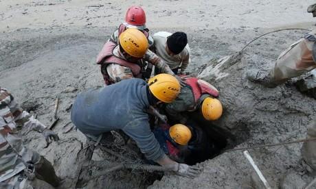 Rupture d'un glacier en Inde : Dix corps retrouvés sans vie