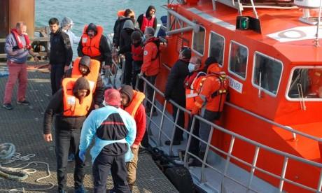 36 migrants en difficulté secourus dans la Manche