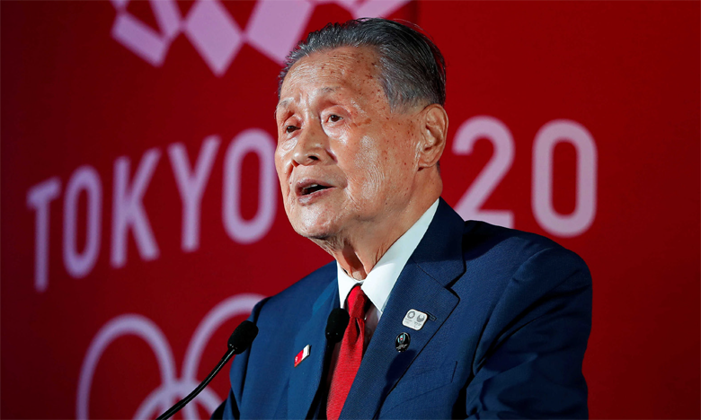 Yoshiro Mori, président du Comité d'organisation des JO 2020.