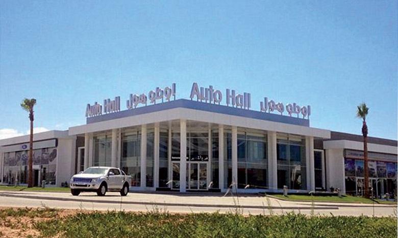 Auto Hall améliore ses ventes de plus de 9% en 2020